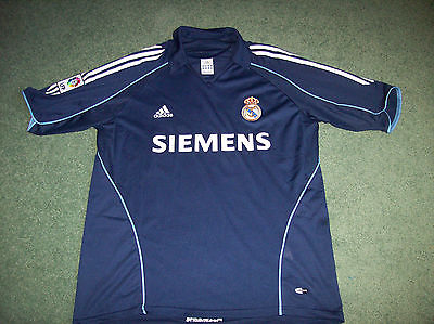 finest selection 8106d 53598 2005 2006 Real Madrid David Beckham Away Football Shirt Adults XL Camiseta